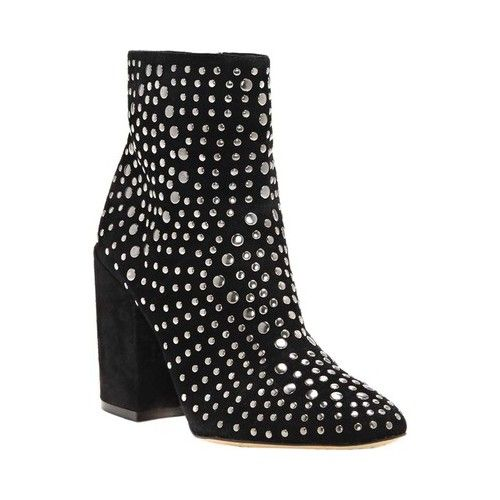 e5fb6e72db8 Drista Studded Bootie in 2019   Products   Boots, Black block heel ...