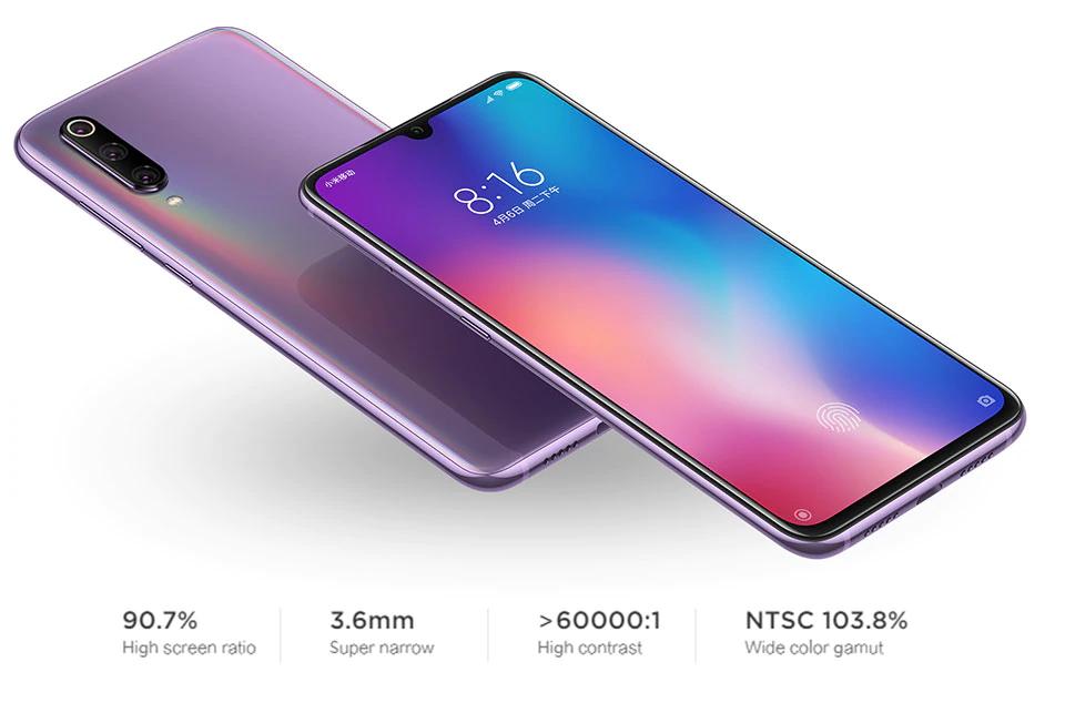 Xiaomi Mi 9 Mi9 8gb 128gb Rom Smartphone 48mp Triple Camera Display Fingerprint Nfc Xiaomi Smartphone Smartphones Design