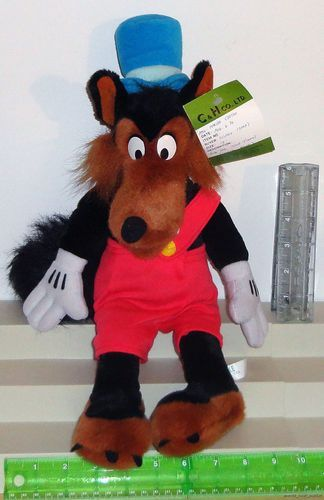 Big Bad Wolf Disney Park Plush Character Prototype Counter Sample