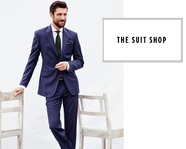 The Suit Shop - HE by Mango