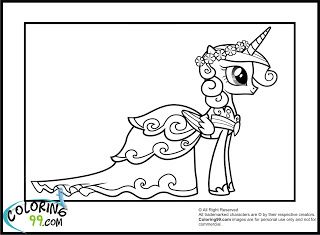 Princess Cadence Coloring Pages Coloring99 Com My Little Pony Coloring Unicorn Coloring Pages Horse Coloring Pages