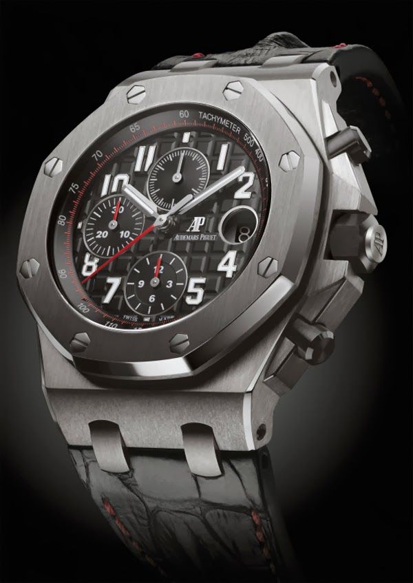 Audemars piguet royal oak offshore chronograph 42mm 2014 collection read more at www for Royal oak offshore vampire