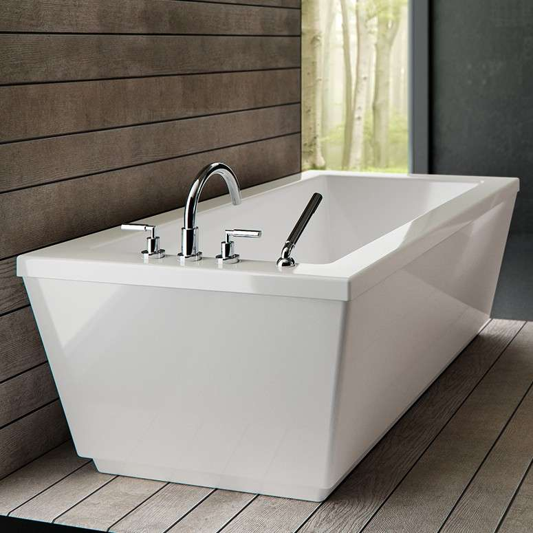 Pin On Freestanding Tubs With Deck Mounted Faucet Option