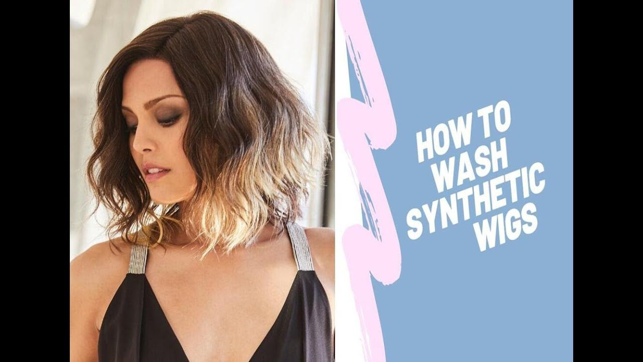 How to wash synthetic hair wigs with regular shampoo