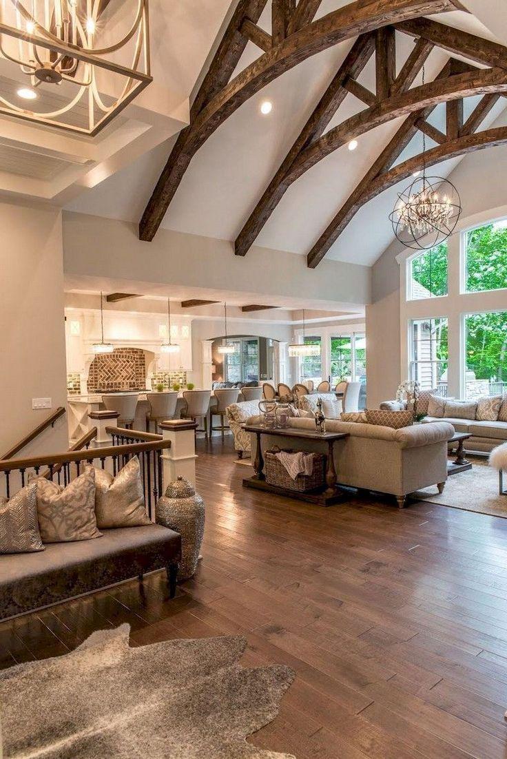 65+ Finest Farmhouse Living Room Remodel Ideas #livingroom #livingroomideas #liv...
