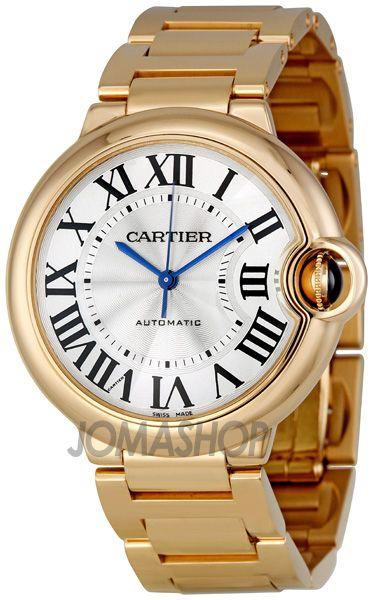 Cartier Ballon Bleu Medium 18k Rose Gold Watch W69004z2 Cartier