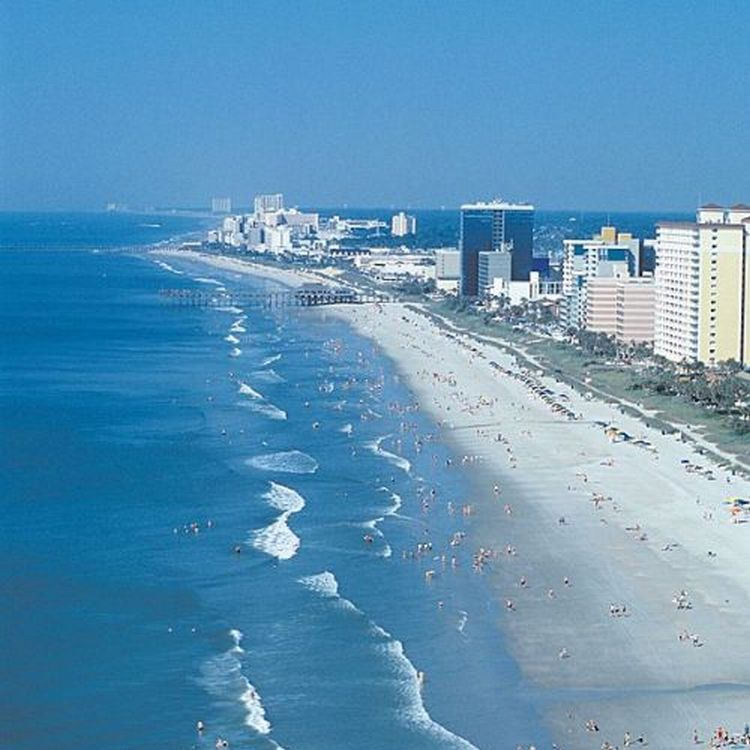The 10 Best U.S. Beaches | Beach, Myrtle beach sc and Spaces