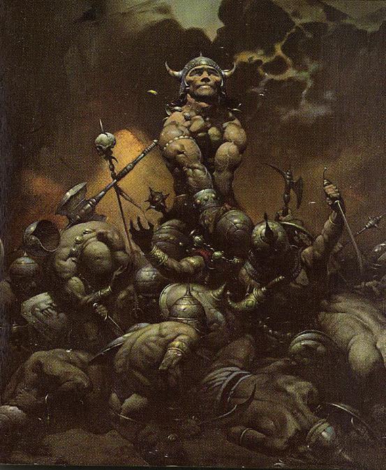 Frank Frazetta:  Conan