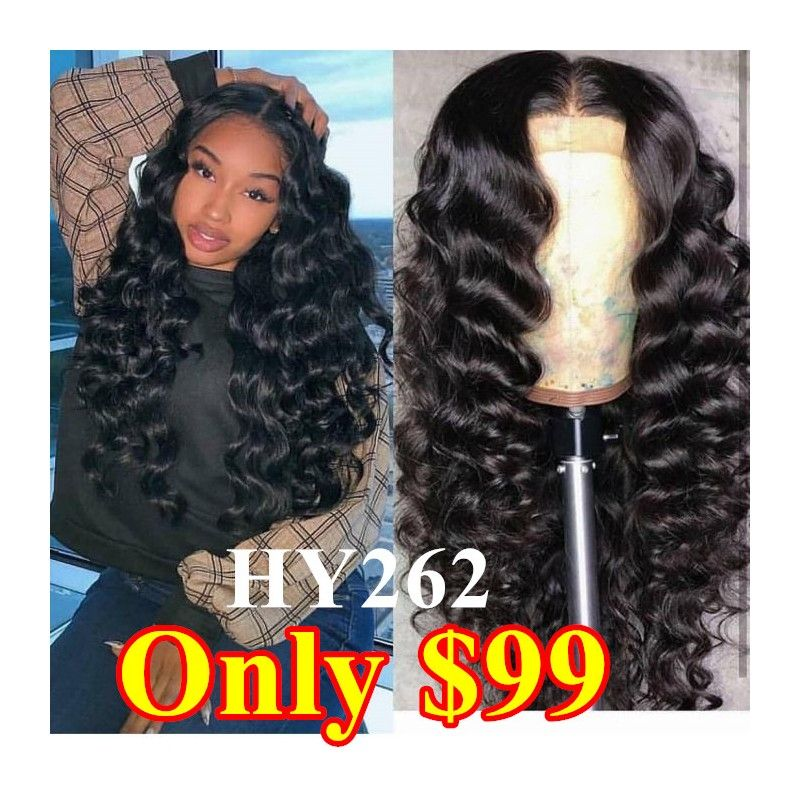50 Off Pre Plucked Brazilian Virgin Beach Wave 360 Frontal Lace Full Wig Hy262 Bea Hairs Hair Color For Black Hair 18 Inch Hair Hair Color Dark