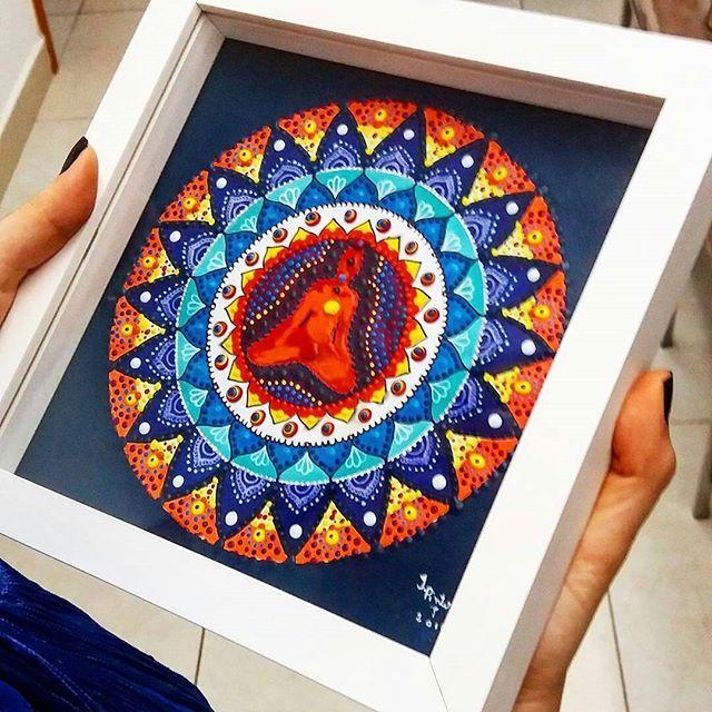 from @mandalaia_ -  Mandalaia Chakras pintada com tinta acrílica (22cmx22cm) prontinha para enfeitar mais uma linda casita      #equilibrio #chakras #chacras #mandalaia #mandalas #porto #oporto #oportocool #followporto #decoracao #espanha #visitporto #portugal #lisboa #decoração #invicta #p3top #portugalcomefeitos #design #decoração #oquetemjp #equilíbrio #natureza #Regrann