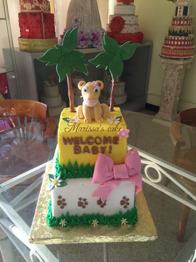 Nala The Lion King Baby Shower Cake Visit Us Facebook Com