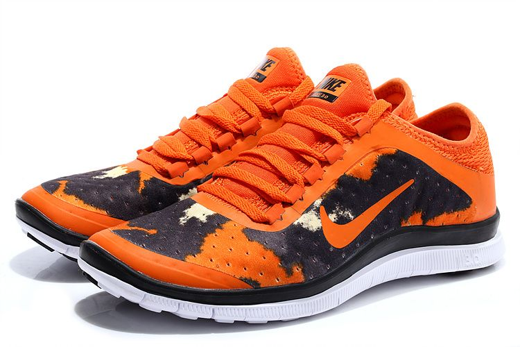 Nike Free 3.0 V7 Mens Vivid Orange Bright Black   great buy   Pinterest   Nike Free, Nike and Orange