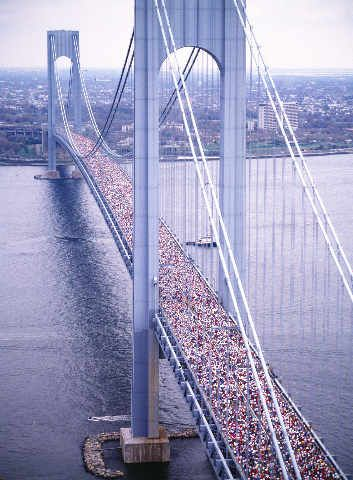 New York Verrazano Bridge Marathon New York Marathon New York City City Marathon