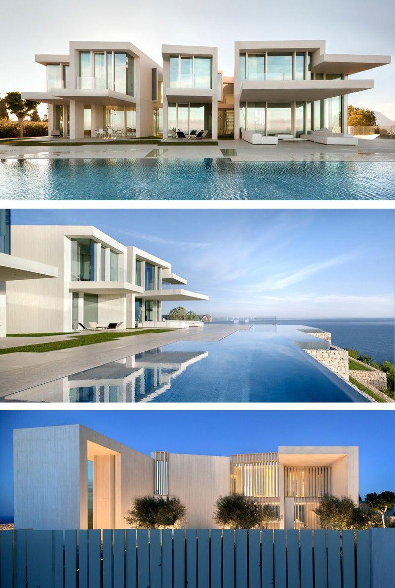 Ramon Esteve Estudio Have Designed A New House, Overlooking The  Mediterranean Ocean In Costa Blanca, Spain