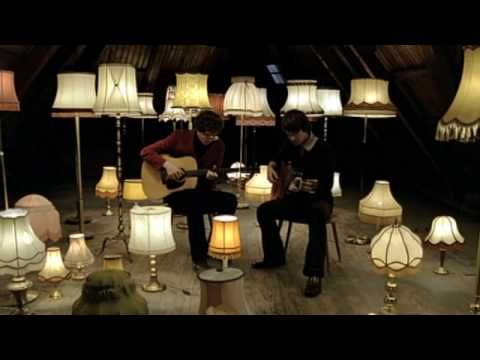 Kings of Convenience - 'Cayman Islands' ... different ... great vocal and guitar duo that sound like a quirky, contemporary Simon & Garfunkel - but wait, there's more... filtered through Scandinavian pop ...