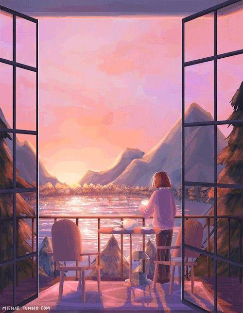 Pemandangan Pemandangan Anime Pemandangan Fotografi Alam