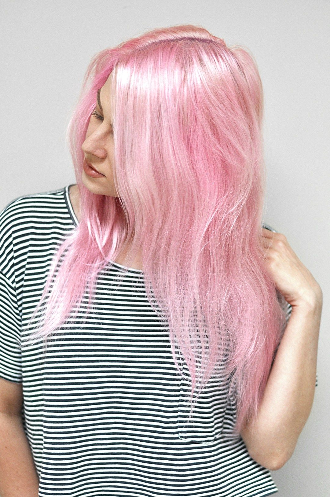 How To Keep Pastel Pink Hair From Fading For Good Mayalamode Pastel Pink Hair Pastel Pink Hair Color Pink Hair