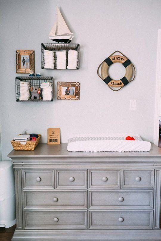 Nautical Baby Boy Nursery Room Ideas: Boy Room Paint, Baby Bedroom