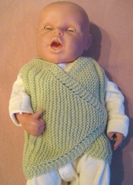 Kolay Bebek Yeleği ve Yapılışı - babyorgu