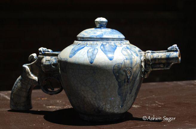 Creative Ceramic Raku Teapot By Ashim Halder Sagor Dhaka Bangladesh Tea Pots Ceramic Teapots Ceramics