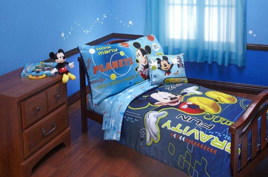 Attractive Mickey Mouse Bedroom Designs Bringing in Cheerful ...