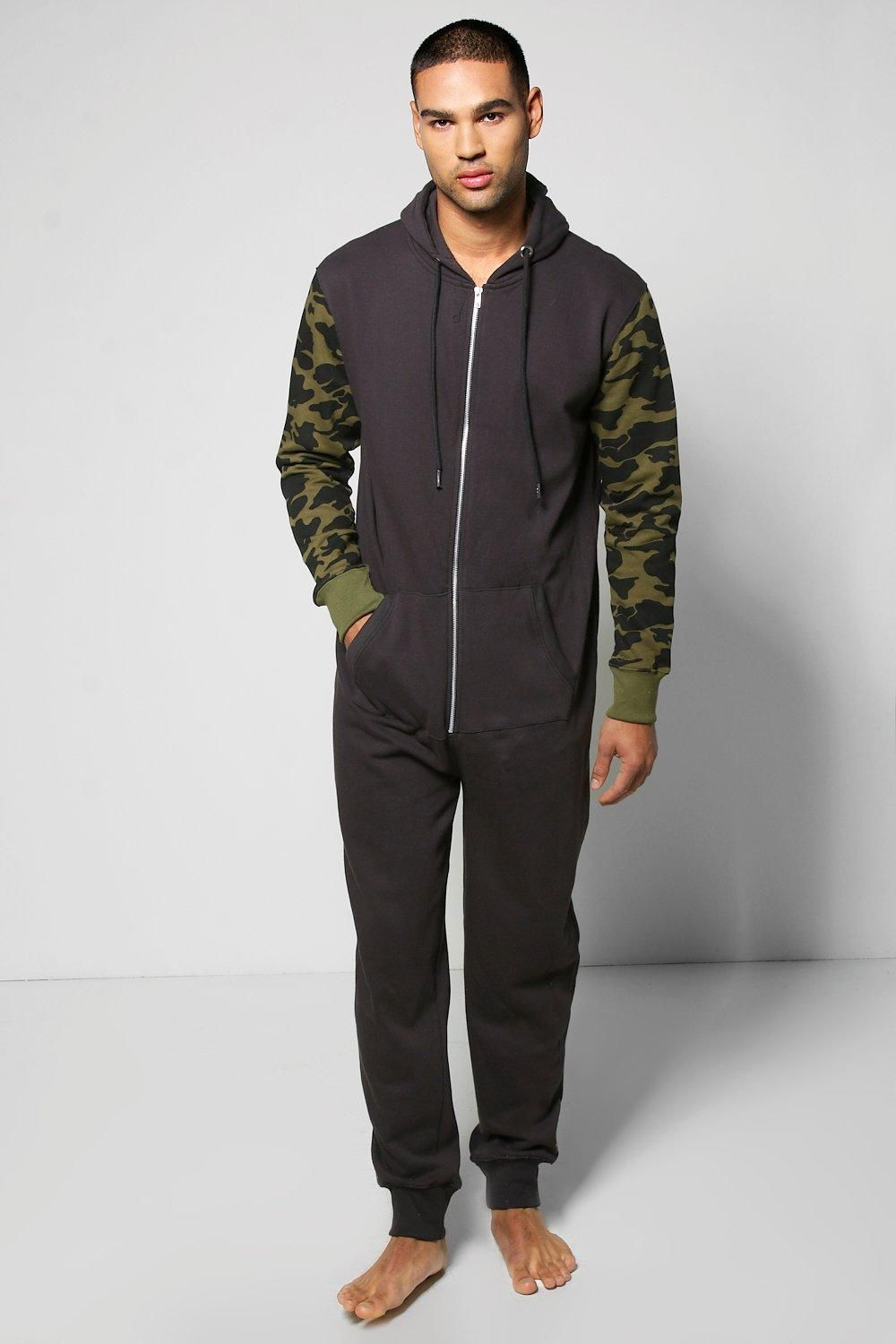 Hooded Camo Mens Onesie Mens Fashion Trends Clothing For This Season Mens Onesie Mens Fashion Trends Mens Outfits [ 1500 x 1000 Pixel ]
