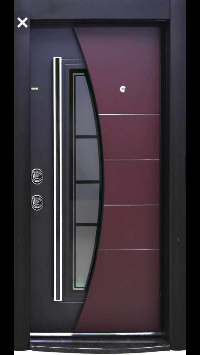 14 Entrada puertas de fierro modernas