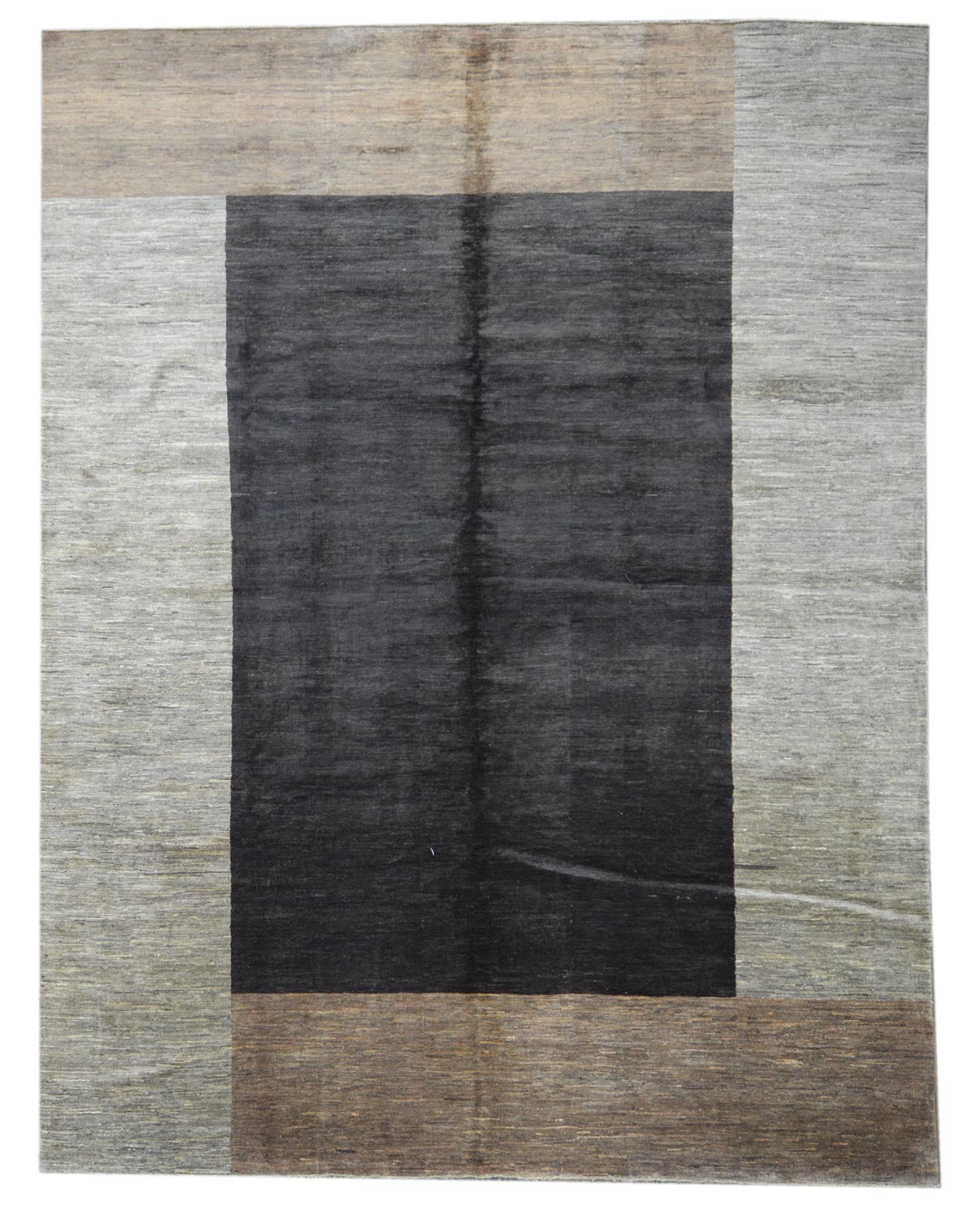 Handmade Modern Afghani Andrew Wool Rug Design 2026 8 10 X