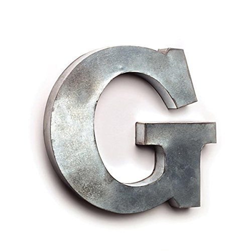 The Country House Collection Tin Letters G The Country Farmhouse Style Gallery Wall Diy Decor