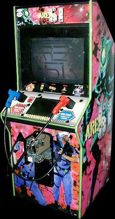 Area 51 let Atari fans battle alien zombies via co-op light guns ...