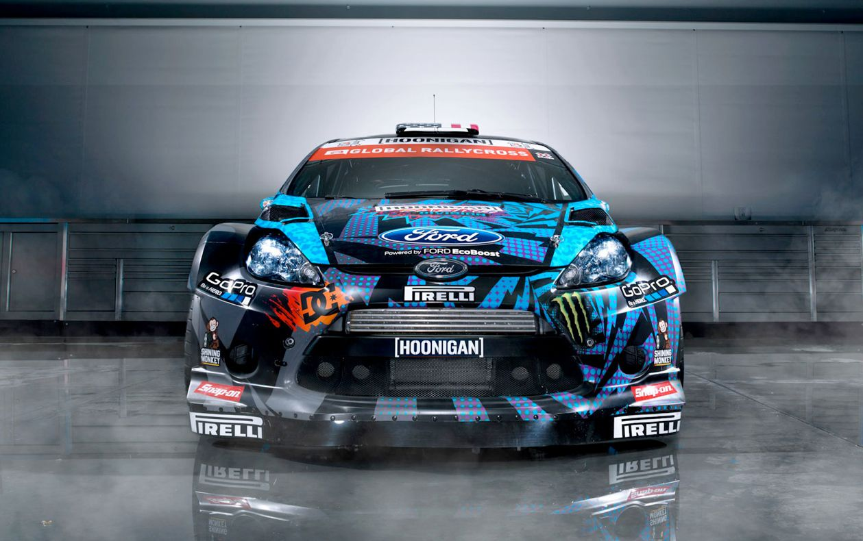 Obnoxious but i love me that stance ken block s ford fiesta st grc