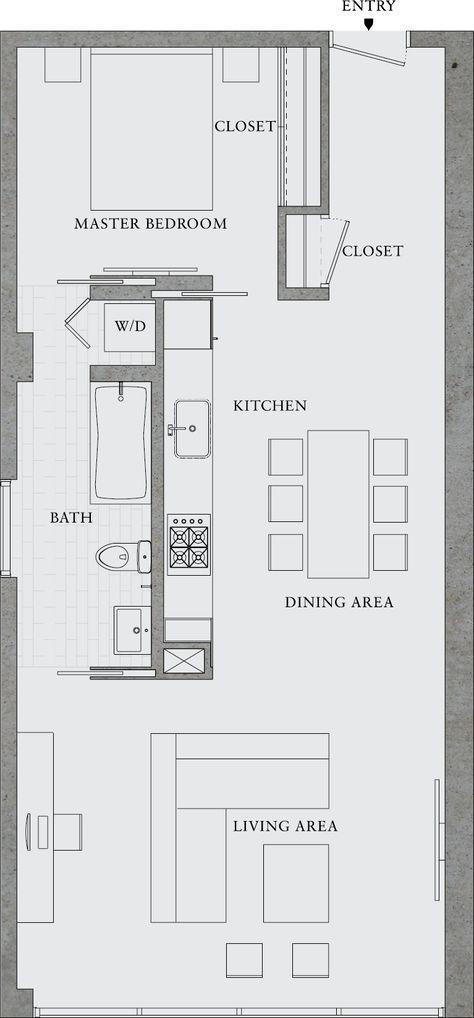 8 Octavia 303 Floorplan cubular floor plans Pinterest Tiny