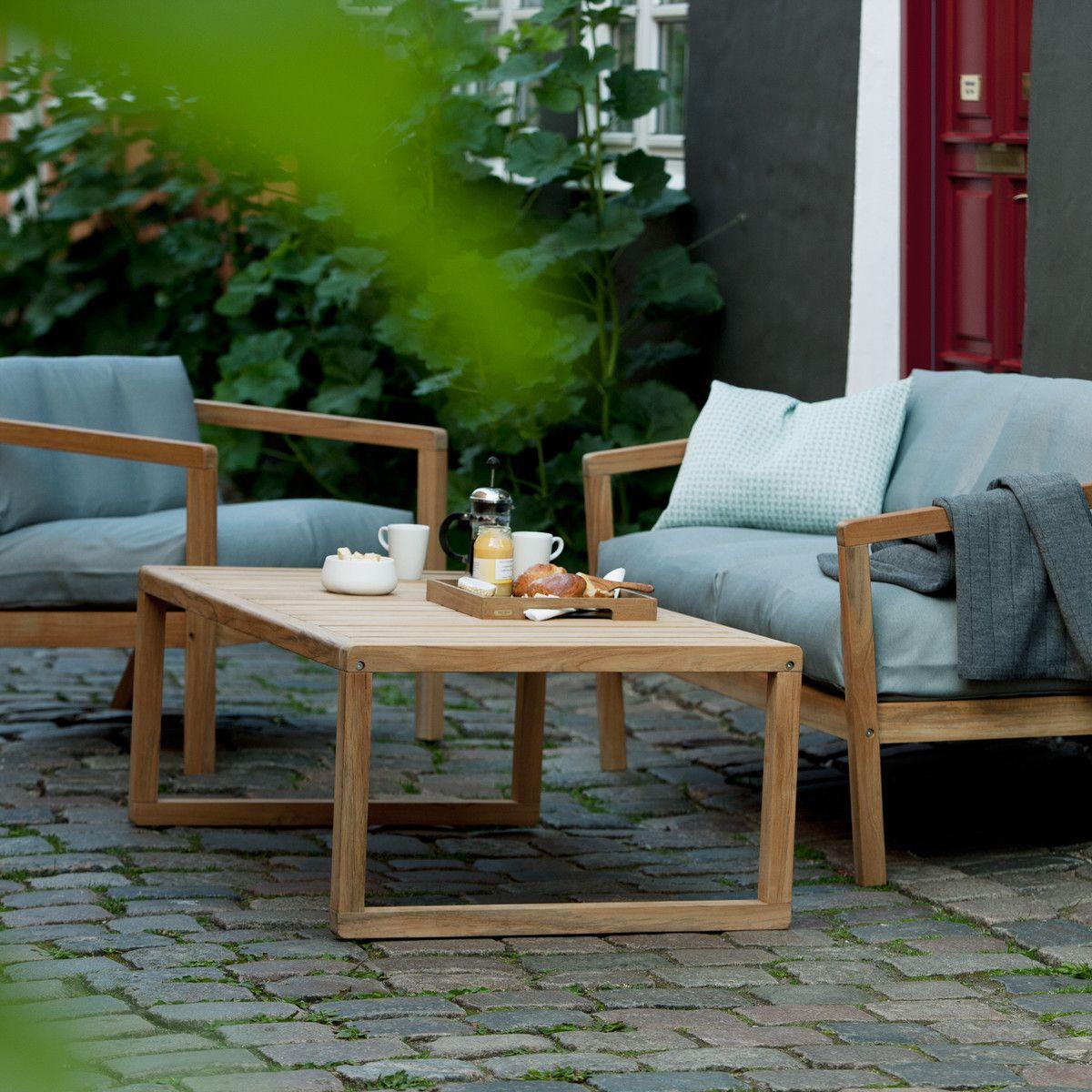 Skagerak - Virkelyst Sofa, eggshell   Garten, Teak furniture and Teak