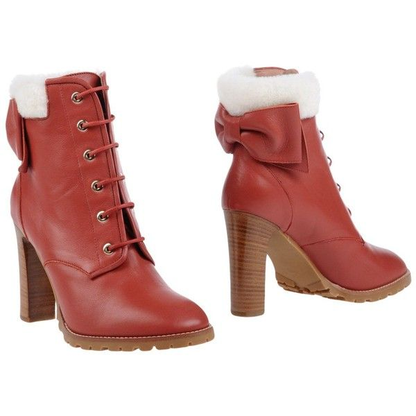 FOOTWEAR - Ankle boots Red(v) S9Na4