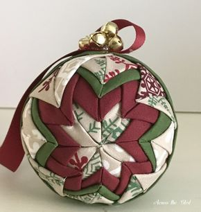 No Sew Quilted Christmas Ornament   Quilted christmas ornaments ... : how to make quilted christmas ornaments - Adamdwight.com