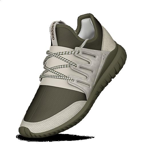 adidas tubular radial schoenen