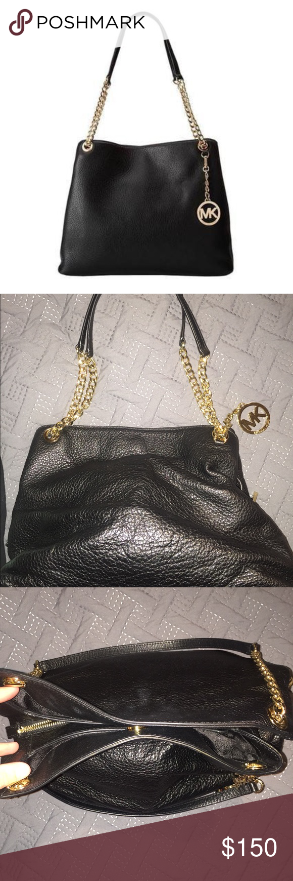 3e5cb1c62b0 Spotted while shopping on Poshmark  Michael Kors Jet Set Purse!  poshmark   fashion  shopping  style  MICHAEL Michael Kors  Handbags