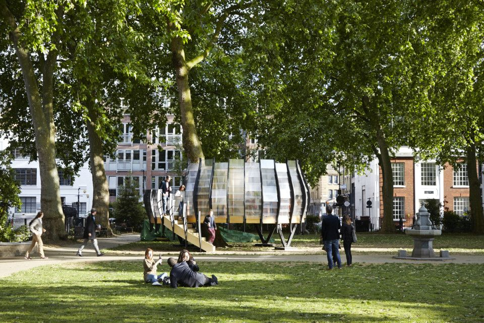 Treexoffice Hoxton Square Outdoor Office Outdoor Commune