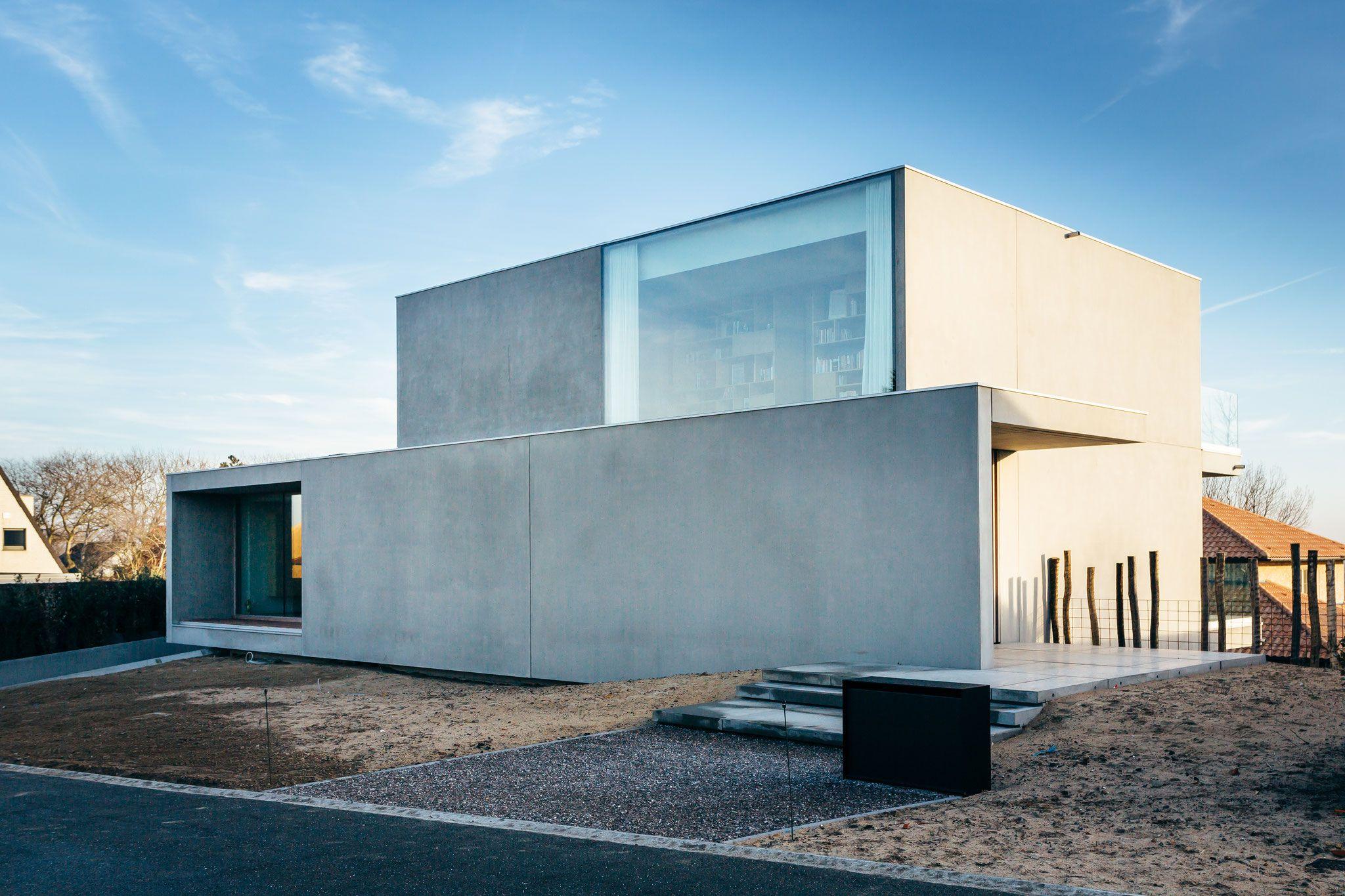 Snel huizen bouw modulair bouwen prefab beton huizen for Moderne bouw