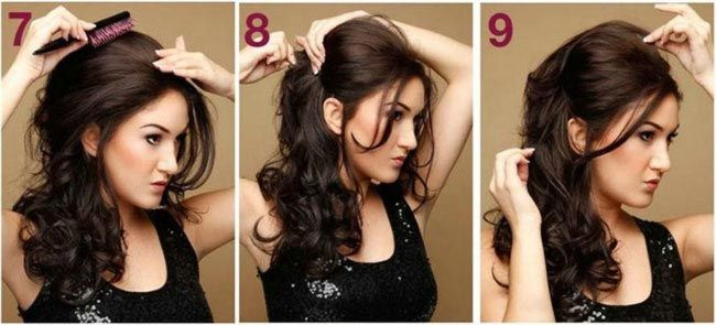 Best Open Hairstyles For Party 2020 In Pakistan Long Hair Styles Open Hairstyles Evening Hairstyles