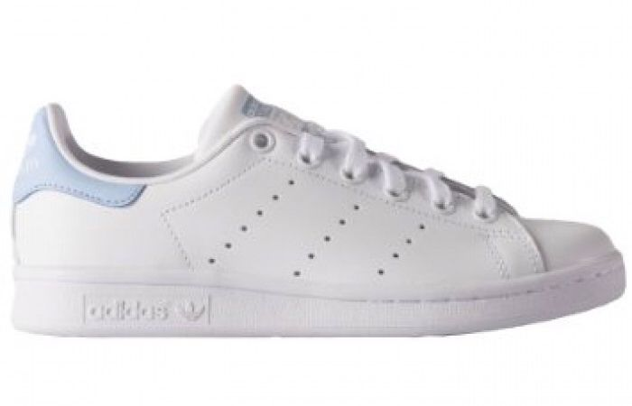 ec5607f5dbc73 Baby blue adidas stan smith