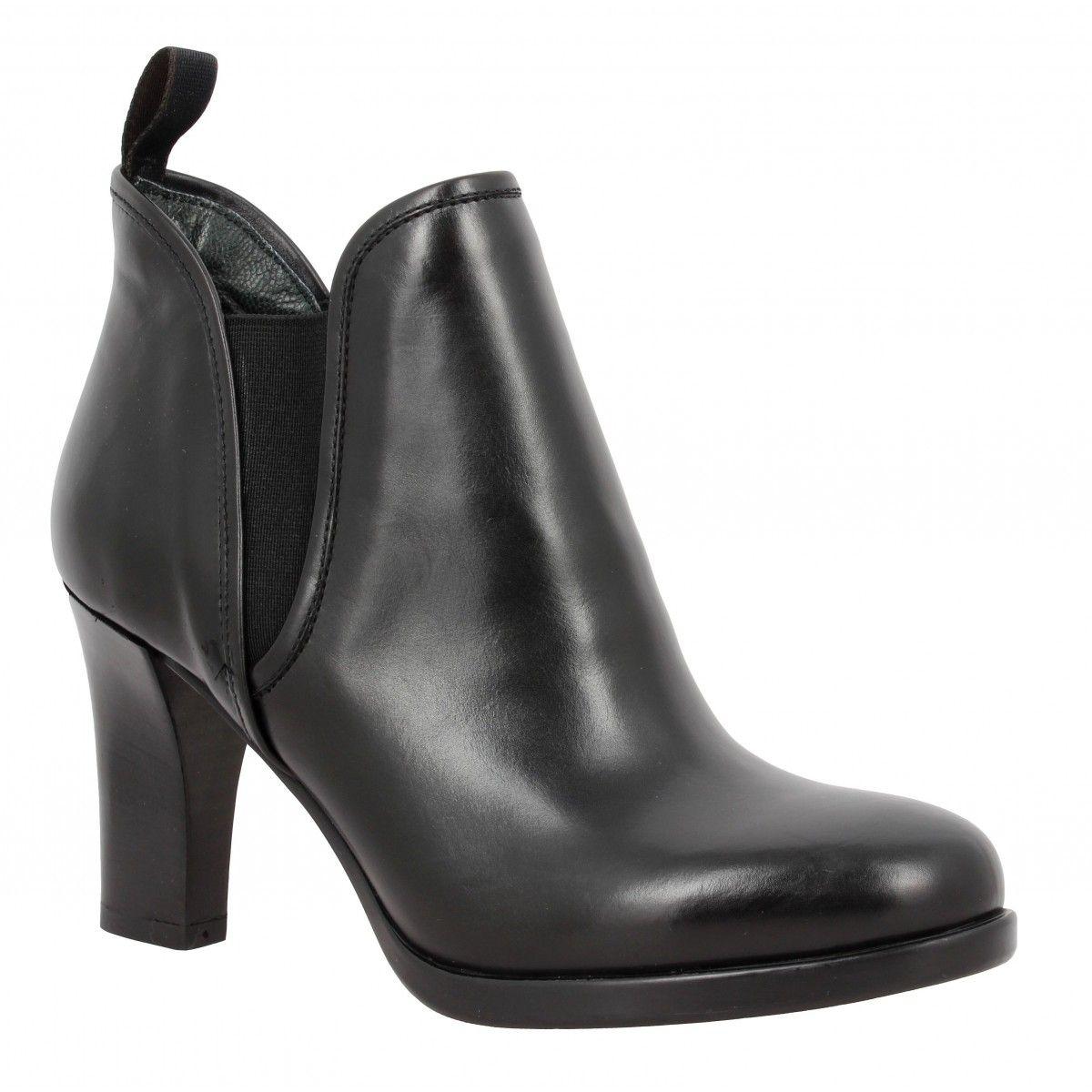 Chaussures Triver noires Fashion femme qXgDxF6aSp
