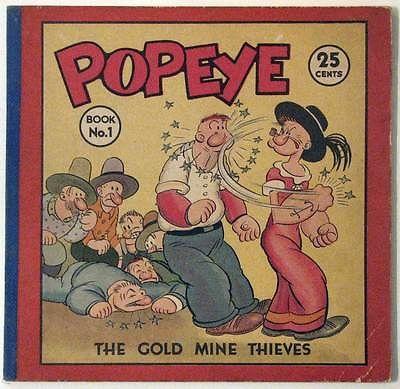Popeye #1 by Segar David McKay 1935