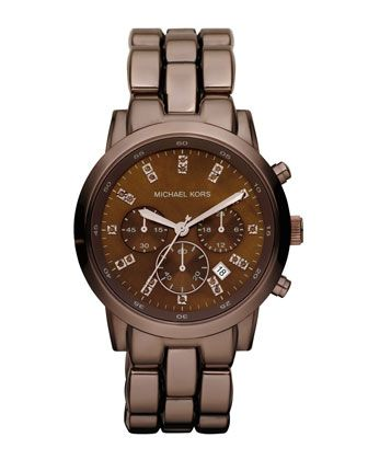 ec2264f685db Michael Kors Mid-Size Showstopper Chronograph Watch