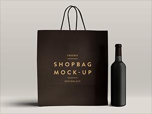 Download Shopping Bag Mockup Psd Bag Mockup Photoshop Mockup Free Shopping Bag Design