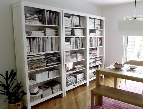 Tall White Bookcase Ikea Hemnes