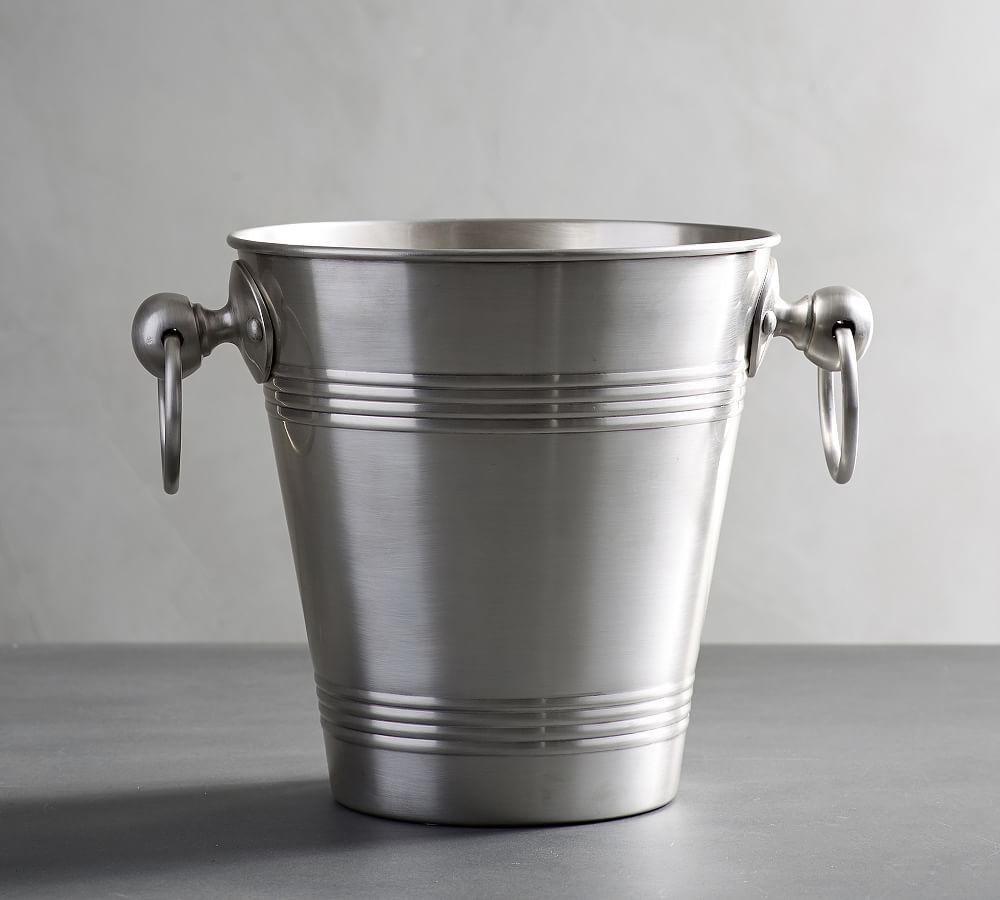 Antique Silver Ice Bucket Potterybarn Silver Ice Bucket Ice Bucket Wine Bucket
