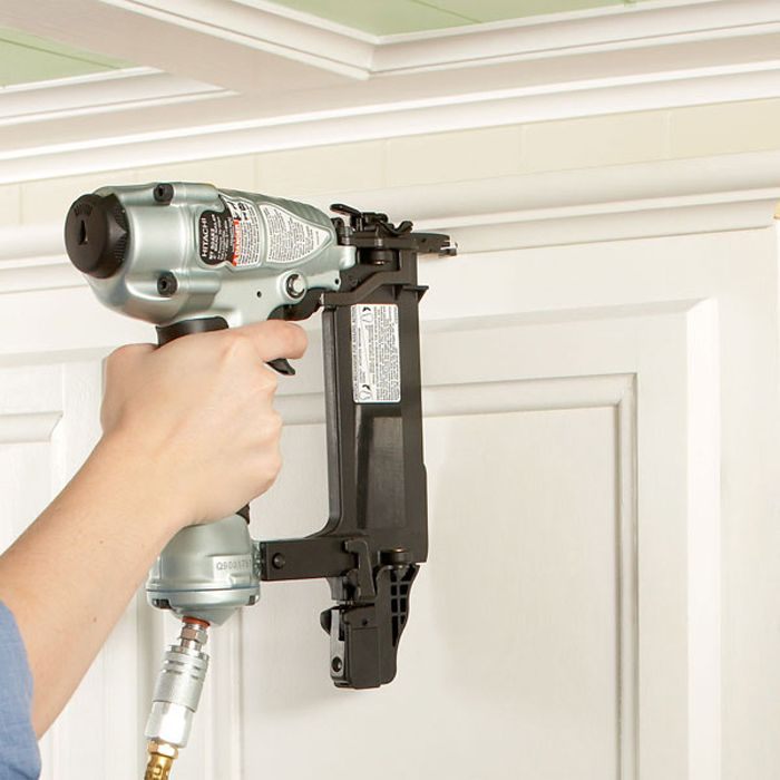 Kitchen Cabinet Crown Molding Installation: Nail Crown Moulding To Mounting Strip