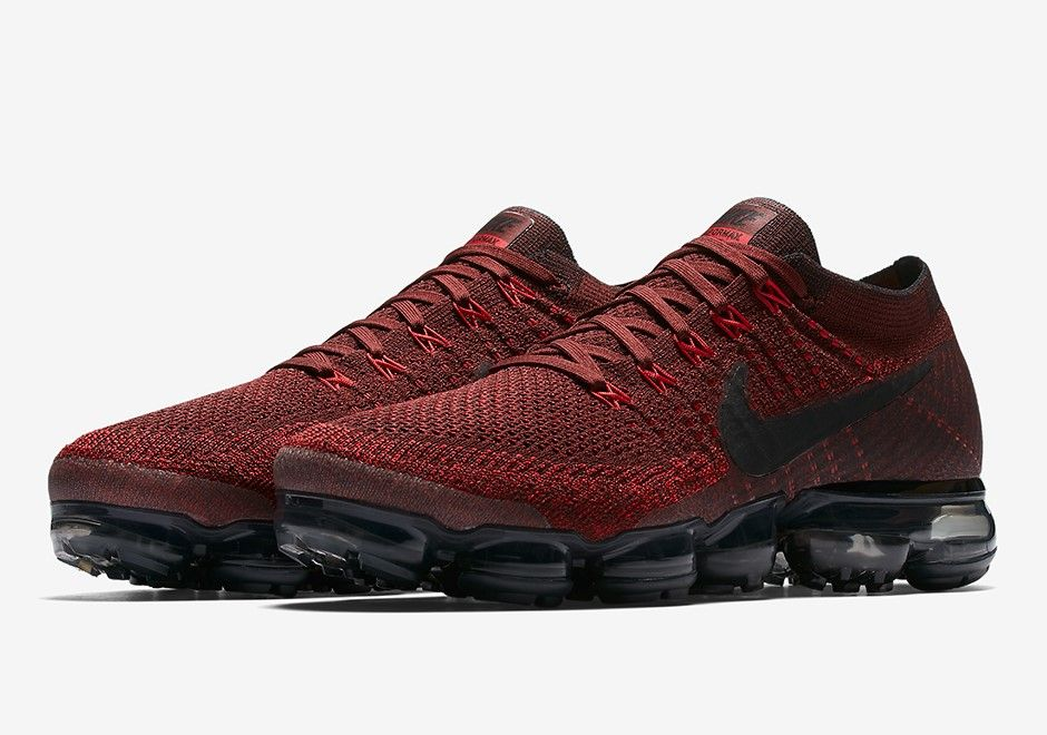 Nike Air Vapormax Dark Team Red Retro Shoes Sneakers Men Fashion Stylish Sneakers Best Sneakers