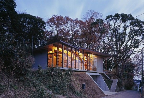 Geo Metria House by Mount Fuji Architects Studio